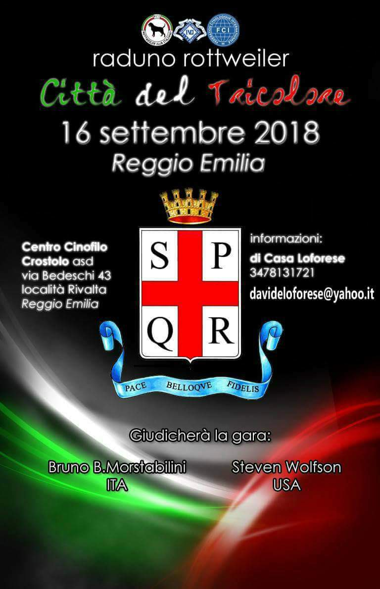 Raduno Rottweiler Reggio Emilia2